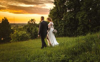 Aneta i Fabian reportaż ślubny