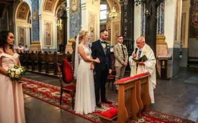 Święta Lipka ślub Agaty i Kamila